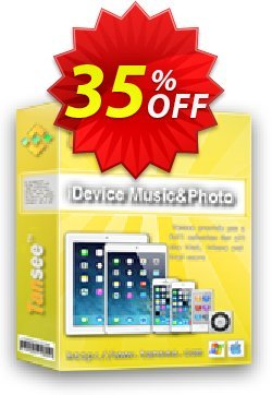 Tansee iOS Music & Photo Transfer - 1 year Coupon, discount Tansee discount codes 13181. Promotion: Tansee discount coupon (13181)
