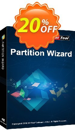 MiniTool Partition Wizard Server Coupon discount 20% off - reseller 20% off