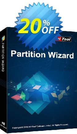 MiniTool Partition Wizard Pro + Lifetime Upgrade Coupon discount 20% off. Promotion: MiniTool Partition Wizard Professional discount promo code