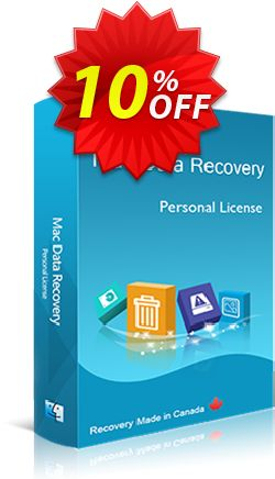 Mac Data Recovery - Personal License Coupon, discount 20% off. Promotion: reseller 20% off