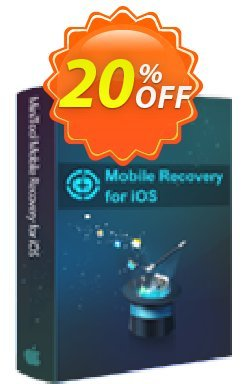 MiniTool Mobile Recovery for iOS Coupon discount 20% off. Promotion: