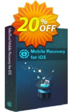 MiniTool Mobile Recovery for iOS Lifetime Coupon discount 20% off. Promotion:
