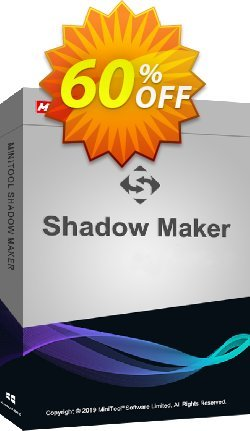 MiniTool ShadowMaker Pro Ultimate Coupon discount 20% off -