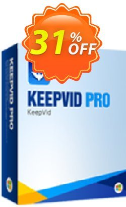 KeepVid Pro Coupon, discount KeepVid Pro best promo code 2019. Promotion: best promo code of KeepVid Pro 2019
