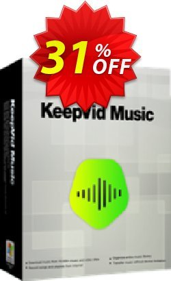 KeepVid Music Coupon, discount KeepVid Music awful discounts code 2019. Promotion: awful discounts code of KeepVid Music 2019