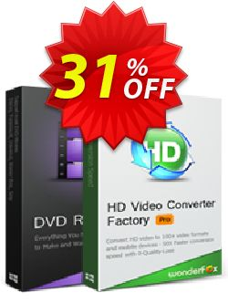 WonderFox DVD Ripper Pro + HD Video Converter Factory Pro Coupon, discount WonderFox DVD Ripper Pro + HD Video Converter Factory Pro excellent discounts code 2019. Promotion: excellent discounts code of WonderFox DVD Ripper Pro + HD Video Converter Factory Pro 2019