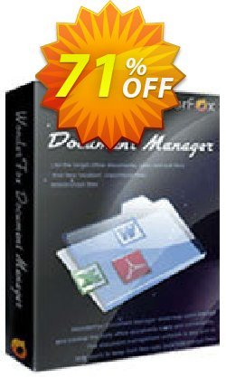 WonderFox Document Manager Coupon, discount 50% OFF on Document Manager. Promotion: awesome sales code of WonderFox Document Manager 2019
