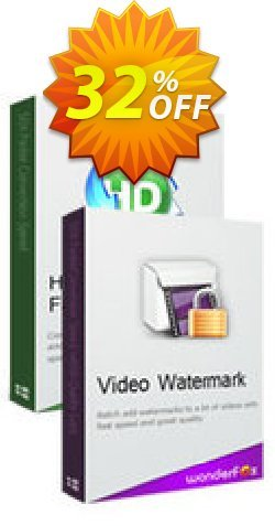 HD Video Converter Factory Pro + Video Watermark Coupon, discount HD Video Converter Factory Pro + Video Watermark best discount code 2019. Promotion: best discount code of HD Video Converter Factory Pro + Video Watermark 2019