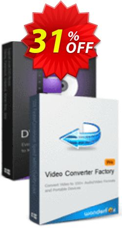 WonderFox DVD Ripper Pro + Video Converter Factory Pro Coupon, discount WonderFox DVD Ripper Pro + Video Converter Factory Pro stirring sales code 2019. Promotion: stirring sales code of WonderFox DVD Ripper Pro + Video Converter Factory Pro 2019