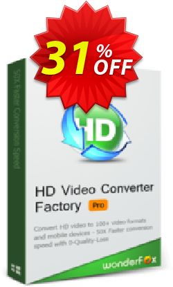 HD Video Converter Factory Pro (3PCs) Coupon, discount HD Video Converter Factory Pro (3PCs) stunning discounts code 2019. Promotion: stunning discounts code of HD Video Converter Factory Pro (3PCs) 2019