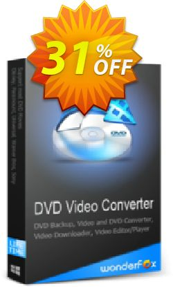 WonderFox DVD Video Converter (special) Coupon, discount WonderFox DVD Video Converter (DIS) hottest sales code 2019. Promotion: hottest sales code of WonderFox DVD Video Converter (DIS) 2019