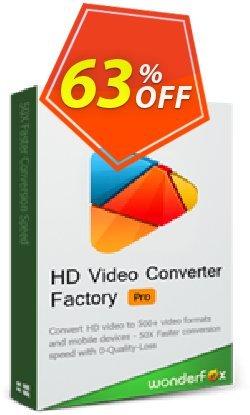 WonderFox HD Video Converter Factory Pro - Family Pack  Coupon, discount HD Video Converter Factory Pro discount. Promotion: WonderFox coupon codes discount for HD Video Converter Factory Pro Family Pack