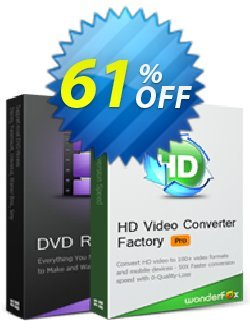 WonderFox DVD Ripper Pro + HD Video Converter Factory Pro Coupon, discount WonderFox DVD Ripper Pro + HD Video Converter Factory Pro wondrous sales code 2019. Promotion: wondrous sales code of WonderFox DVD Ripper Pro + HD Video Converter Factory Pro 2019