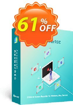 Apowersoft Screen Recorder Pro 1 Year License Coupon, discount Apowersoft Screen Recorder Pro Personal License (Yearly Subscription) staggering offer code 2020. Promotion: Apower soft (17943)