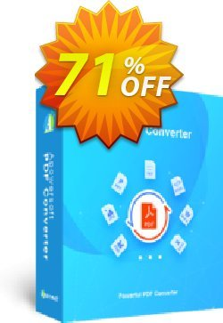 Apowersoft PDF Converter Coupon, discount PDF Converter Personal License (Yearly Subscription) excellent promotions code 2020. Promotion: excellent promotions code of PDF Converter Personal License (Yearly Subscription) 2020
