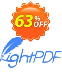 Apowersoft LightPDF Yearly Subscription Coupon, discount LightPDF Yearly Subscription amazing deals code 2020. Promotion: amazing deals code of LightPDF Yearly Subscription 2020