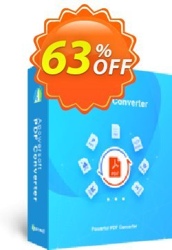 Apowersoft PDF Converter - Monthly Subscription  Coupon, discount PDF Converter Personal License (Monthly Subscription) Super sales code 2020. Promotion: Super sales code of PDF Converter Personal License (Monthly Subscription) 2020