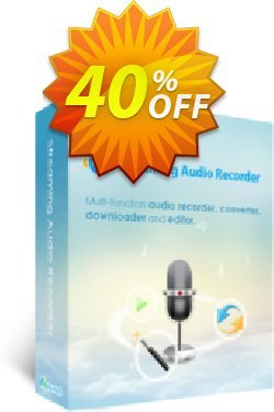 Streaming Audio Recorder Family License - Lifetime  Coupon, discount Streaming Audio Recorder Family License (Lifetime) amazing offer code 2020. Promotion: amazing offer code of Streaming Audio Recorder Family License (Lifetime) 2020