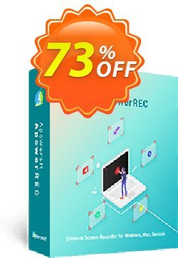 Apowersoft Screen Recorder Pro Lifetime Coupon, discount Apowersoft Screen Recorder Pro Personal License (Lifetime Subscription) Best promotions code 2020. Promotion: Best promotions code of Apowersoft Screen Recorder Pro Personal License (Lifetime Subscription) 2020