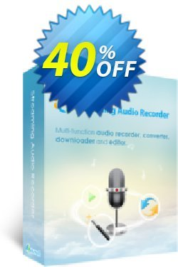 Streaming Audio Recorder Family License - Lifetime  Coupon, discount Streaming Audio Recorder Family License (Lifetime) Dreaded promotions code 2020. Promotion: Dreaded promotions code of Streaming Audio Recorder Family License (Lifetime) 2020