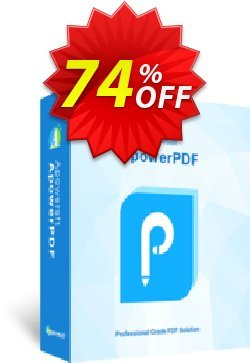 ApowerPDF Lifetime Coupon, discount ApowerPDF Personal License (Lifetime Subscription) impressive discount code 2020. Promotion: imposing deals code of ApowerPDF Personal License (Lifetime Subscription) 2020