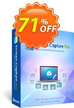 Screen Capture Pro Yearly Coupon, discount Apowersoft Screen Capture Pro Personal License (Yearly Subscription) big discounts code 2020. Promotion: best promo code of Apowersoft Screen Capture Pro Personal License (Yearly Subscription) 2020