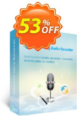 Streaming Audio Recorder Business Yearly Coupon, discount Streaming Audio Recorder Commercial License (Yearly Subscription) big deals code 2020. Promotion: best sales code of Streaming Audio Recorder Commercial License (Yearly Subscription) 2020