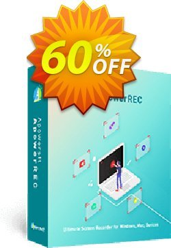 Apowersoft Screen Recorder Pro Business 1 Year License Coupon, discount Apowersoft Screen Recorder Pro Commercial License (Yearly Subscription) stirring promo code 2020. Promotion: imposing discount code of Apowersoft Screen Recorder Pro Commercial License (Yearly Subscription) 2020