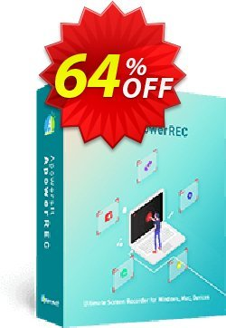 Apowersoft Screen Recorder Pro Business Lifetime License Coupon, discount Apowersoft Screen Recorder Pro Commercial License (Lifetime Subscription) impressive discounts code 2020. Promotion: stirring promo code of Apowersoft Screen Recorder Pro Commercial License (Lifetime Subscription) 2020