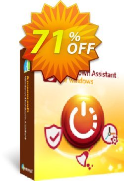 Windows Shutdown Assistant Yearly Coupon, discount Windows Shutdown Assistant Personal License (Yearly Subscription) staggering discounts code 2020. Promotion: stunning promo code of Windows Shutdown Assistant Personal License (Yearly Subscription) 2020