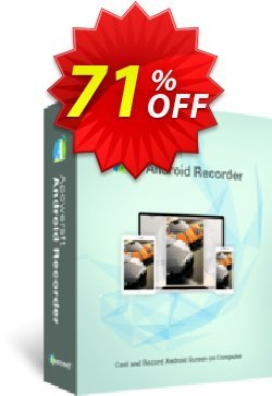 Apowersoft Android Recorder Yearly Coupon, discount Apowersoft Android Recorder Personal License (Yearly Subscription) wondrous deals code 2020. Promotion: marvelous sales code of Apowersoft Android Recorder Personal License (Yearly Subscription) 2020