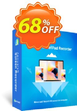 Apowersoft iPhone/iPad Recorder Lifetime Coupon, discount Apowersoft iPhone/iPad Recorder Personal License (Lifetime Subscription) awful discount code 2020. Promotion: wondrous offer code of Apowersoft iPhone/iPad Recorder Personal License (Lifetime Subscription) 2020