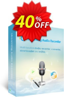 Streaming Audio Recorder Family License - Lifetime  Coupon, discount Streaming Audio Recorder Family License (Lifetime) Amazing deals code 2020. Promotion: Amazing deals code of Streaming Audio Recorder Family License (Lifetime) 2020