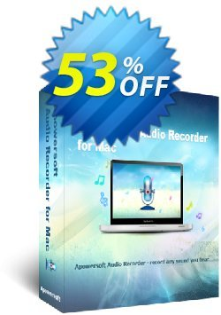 Apowersoft Audio Recorder for Mac Coupon, discount Apowersoft Audio Recorder for Mac Personal License big deals code 2020. Promotion: Apower soft (17943)