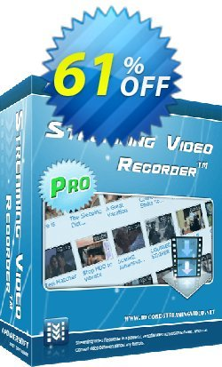 Apowersoft Streaming Video Recorder Coupon, discount Streaming Video Recorder Personal License best discounts code 2020. Promotion: Apower soft (17943)