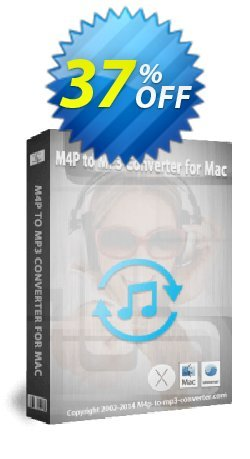 M4P to MP3 Converter for Mac Coupon, discount Audio Converter Pro, M4P Converter, M4P to MP3 coupon (18081. Promotion: M4P to MP3 Converter for Mac discount (18081) Regnow: IVS-PAWG-PDII
