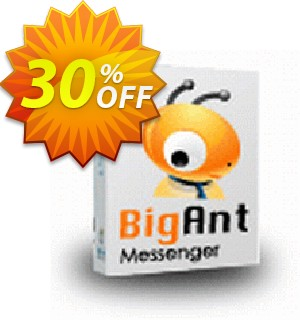 BigAntIM 100 user special price Coupon, discount up to 20 user license. Promotion:
