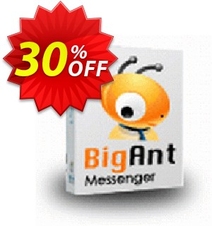 BigAnt IM standard 29U Coupon, discount up to 20 user license. Promotion: