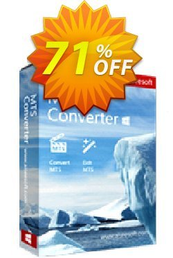 Aiseesoft MTS Converter Coupon, discount Aiseesoft MTS Converter awesome promo code 2020. Promotion: 40% Off for All Products of Aiseesoft