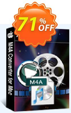 Aiseesoft M4A Converter for Mac Coupon, discount Aiseesoft M4A Converter for Mac imposing promotions code 2020. Promotion: 40% Off for All Products of Aiseesoft