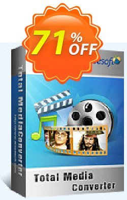 Aiseesoft Total Media Converter Coupon, discount 40% Aiseesoft. Promotion: 40% Off for All Products of Aiseesoft