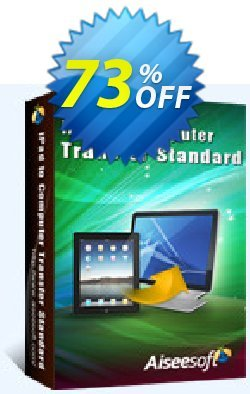 Aiseesoft iPad to Computer Transfer Coupon, discount 40% Aiseesoft. Promotion:
