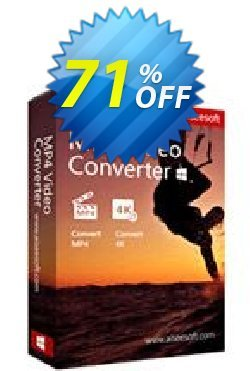 Aiseesoft MP4 Video Converter Coupon, discount 40% Aiseesoft. Promotion: 40% Off for All Products of Aiseesoft