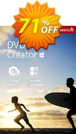 Aiseesoft DVD Creator Coupon, discount Aiseesoft DVD Creator stirring offer code 2019. Promotion: 40% Off for All Products of Aiseesoft