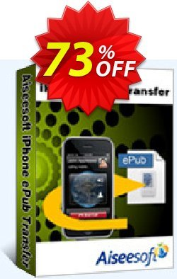 Aiseesoft iPhone ePub Transfer Coupon, discount 40% Aiseesoft. Promotion: