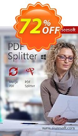 Aiseesoft PDF Splitter Coupon, discount Aiseesoft PDF Splitter best deals code 2020. Promotion: 40% Off for All Products of Aiseesoft