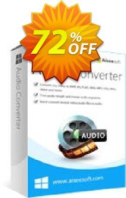 Aiseesoft Audio Converter Coupon discount Aiseesoft Audio Converter marvelous deals code 2020. Promotion: 40% Off for All Products of Aiseesoft
