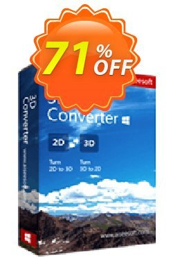 Aiseesoft 3D Converter Coupon discount Aiseesoft 3D Converter stunning promotions code 2020. Promotion: 40% Off for All Products of Aiseesoft