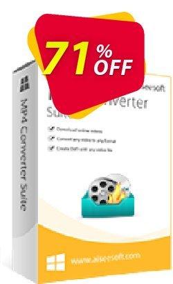 Aiseesoft MP4 Converter Suite Coupon, discount 40% Aiseesoft. Promotion: