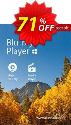 Aiseesoft Blu-ray Player Coupon discount Aiseesoft Blu-ray Player wondrous discount code 2019. Promotion: 40% Off for All Products of Aiseesoft
